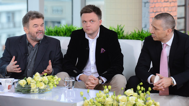 Edward Miszczak, Szymon Hołownia i Richard Gaskin